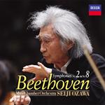 小澤征爾 - ベートーヴェン:交響曲第2番&第8番