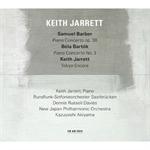 キース・ジャレット - バーバー:ピアノ協奏曲、バルトーク:ピアノ協奏曲 第3番 他