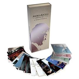 アンドレア・ボチェッリ - コンプリート・ポップ・アルバムBOX(全16CD)