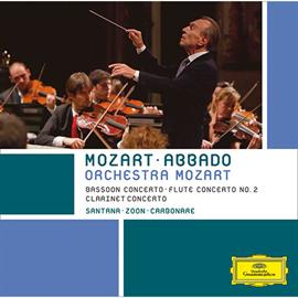 クラウディオ・アバド - クラリネット協奏曲~モーツァルト:木管楽器のための協奏曲集 Vol.3