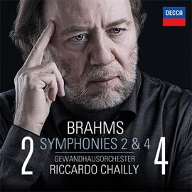 リッカルド・シャイー - ブラームス:交響曲第2番&4番