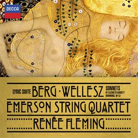 エマーソン弦楽四重奏団&ルネ・フレミング - ベルク:抒情組曲