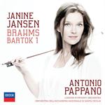 ジャニーヌ・ヤンセン - ブラームス&バルトーク:ヴァイオリン協奏曲