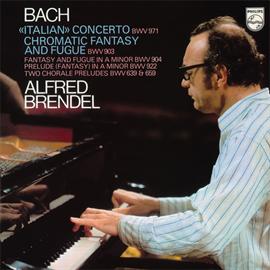 アルフレッド・ブレンデル - バッハ:イタリア協奏曲、他