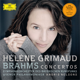 エレーヌ・グリモー - ブラームス:ピアノ協奏曲第1番&2番