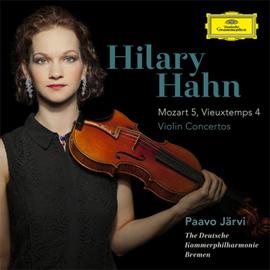 ヒラリー・ハーン - モーツァルト&ヴュータン:ヴァイオリン協奏曲