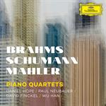 ブラームス、シューマン、マーラー:ピアノ四重奏曲集