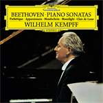 ヴィルヘルム・ケンプ - ベートーヴェン:ピアノ・ソナタ《悲愴》《月光》《熱情》
