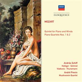 アンドレ・プレヴィン - モーツァルト:ピアノ四重奏曲集、他