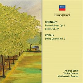 アンドラーシュ・シフ - ドホナーニ:ピアノ五重奏曲、六重奏曲