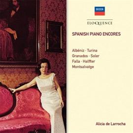 アリシア・デ・ラローチャ - スペイン・ピアノ・アンコール・ピース