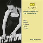 アリシア・デ・ラローチャ - ファースト・レコーディング