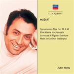 モーツァルト:交響曲34, 39, 40番, アイネ・クライネ・ナハトムジーク, 他