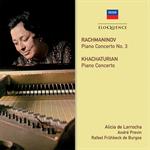 アリシア・デ・ラローチャ - ラフマニノフ&ハチャトゥリアン:ピアノ協奏曲