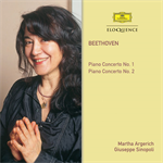 マルタ・アルゲリッチ - ベートーヴェン:ピアノ協奏曲第1番&第2番