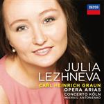 ユリア・レージネヴァ - グラウン:オペラ・アリア集