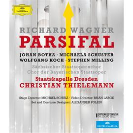 クリスティアン・ティーレマン - ワーグナー:舞台神聖祝典劇 『パルジファル』[Blu-ray]