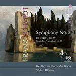 ステファン・ブルニエ - シュミット:交響曲第2番、他