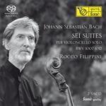 ロッコ・フィリッピーニ - J.S.バッハ:無伴奏チェロ組曲全曲