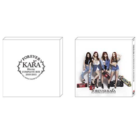KARA - FOREVER KARA Blu-ray COMPLETE BOX 2010-2015 ~ALL JAPAN TOURS & CLIPS~