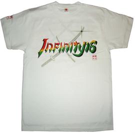 INFINITY 16 - Tシャツ/無限/白×赤/2XL