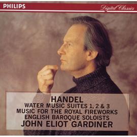 ジョン・エリオット・ガーディナー - ガ-ディナ-/ヘンデル:水上の音楽,王宮