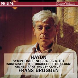 フランス・ブリュッヘン - ブリュッヘン/ハイドン:交響曲「驚愕」「