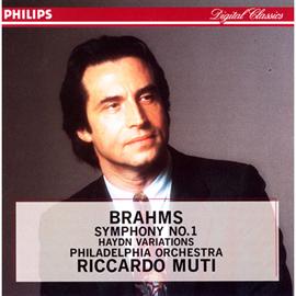 リッカルド・ムーティ - ム-ティ/ブラ-ムス:交響曲1番,ハイド