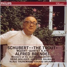 アルフレッド・ブレンデル - ブレンデル/シュ-ベルト:ピアノ五重奏曲
