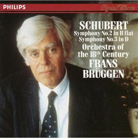 フランス・ブリュッヘン - ブリッヘン/シューベルト:交響曲第2,第