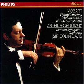 サー・コリン・デイヴィス - モーツァルト/ヴァイオリン協奏曲第1番、