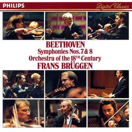 フランス・ブリュッヘン - ベートーヴェン:交響曲第7、8番