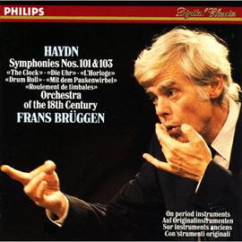 フランス・ブリュッヘン - ハイドン:交響曲第101番「時計」103