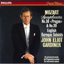 ジョン・エリオット・ガーディナー - モーツァルト:交響曲第38番「プラハ」、