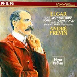 アンドレ・プレヴィン - エルガー:エニグマ変奏曲、「威風堂々」