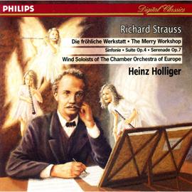 ハインツ・ホリガー - R.シュトラウス/管楽器のためのセレナー