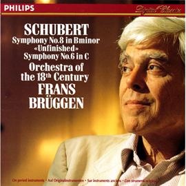フランス・ブリュッヘン - シューベルト/交響曲第8・6番