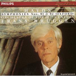 フランス・ブリュッヘン - ブリュッヘン/ハイドン交響曲NO91,9