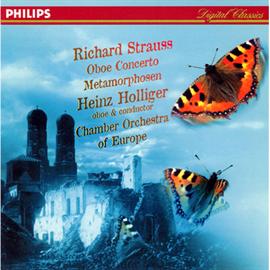 ハインツ・ホリガー - R.シュトラウス:オ-ボエ協奏曲、変容