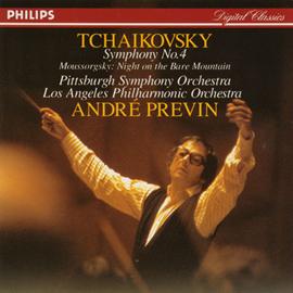 アンドレ・プレヴィン - チャイコフスキー/交響曲第4番ヘ短調作品