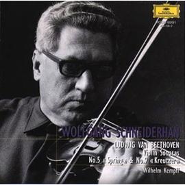 ヴォルフガング・シュナイダーハン - ベートーヴェン:ヴァイオリン・ソナタ第5番・9番