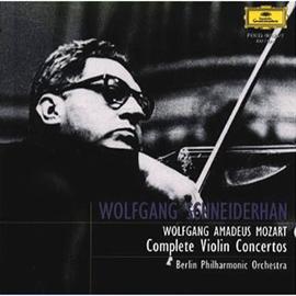 ヴォルフガング・シュナイダーハン - モーツァルト:ヴァイオリン協奏曲第1番・2番・3番