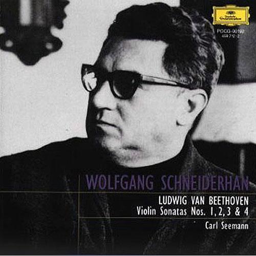 ベートーヴェン:ヴァイオリン・ソナタ第1番・2番・3番・4番[CD ...