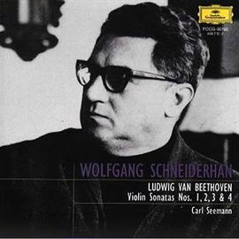 ヴォルフガング・シュナイダーハン - ベートーヴェン:ヴァイオリン・ソナタ第1番・2番・3番・4番