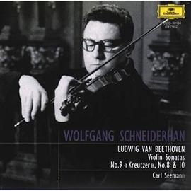 ヴォルフガング・シュナイダーハン - ベートーヴェン:ヴァイオリン・ソナタ第8番・9番・10番