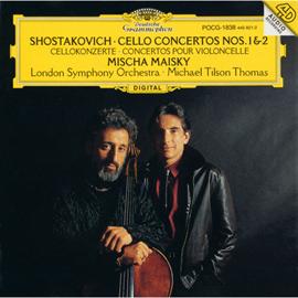 ミッシャ・マイスキー - ショスタコ-ヴィチ/チェロ協奏曲第1・2