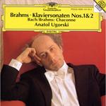 ブラ-ムス:ピアノ・ソナタ第1、2番他