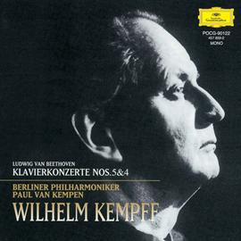 ヴィルヘルム・ケンプ - ベートーヴェン:ピアノ協奏曲第5・4番