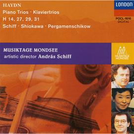 アンドラーシュ・シフ - ハイドン:ピアノ三重奏曲集