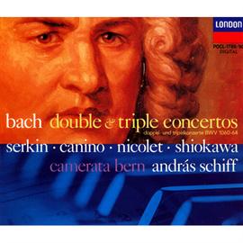 アンドラーシュ・シフ - バッハ:2台、3台のピアノのための協奏曲全集